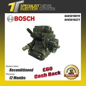 Mercedes Sprinter 2.7 Reconditioned Bosch Diesel Fuel Pump 0445010019 0445010271