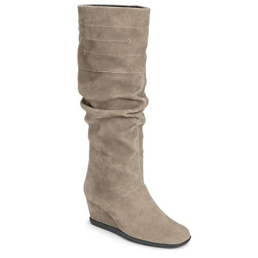 Canada Goose kensington parka outlet cheap - Profit Sueded Rouched Knee High Boot | Women's Knee High Boots ...