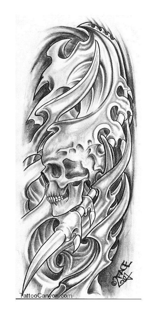 Pin By Anthony Street P On Bio Biomechanical Tattoo Design Skull Tattoo Design Tattoo Designs