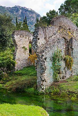 Ninfa Gardens, Province of Latina , Lazio region Italy