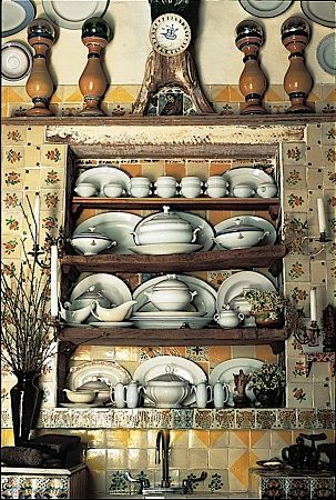 Achieve spanish style room by room traditional plate for Traditional mexican kitchen