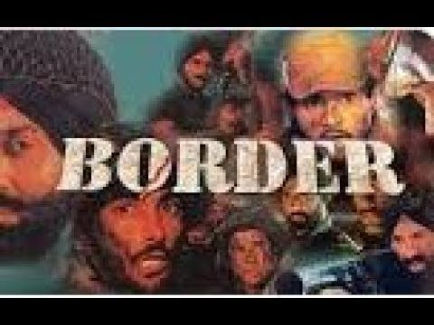 Sandese Aate Hai Lyrical Video Border Sunny Deol Sunil Shetty B Border Lyrics Movie Posters