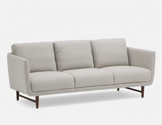 Aaron Grey 3 Seater Sofa Structube Living Room Sofa Design Sofa Grey 3 Seater Sofa