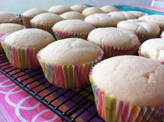 A delicious recipe for egg free cupcakes. These petite vanilla cakes are an elegant desert safe for children with egg or nut allergies.
