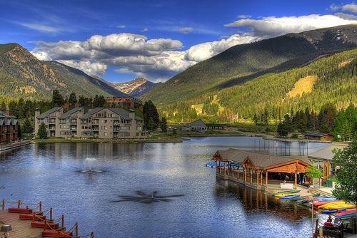 Keystone Lake & Lodge, Keystone, Colorado