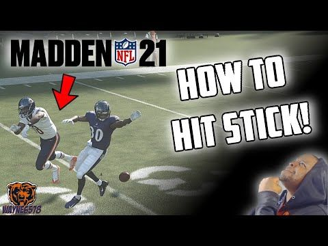 Madden 21 How To Tackle And Hit Stick How To Cause Fumbles In Madden 21 Hit Stick Tutorial Youtube In 2020 Madden Tackle Madden Nfl