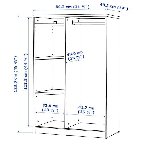 Syvde Open Wardrobe White Ikea Open Wardrobe Wardrobe Dimensions Closet Designs
