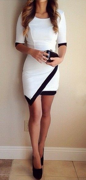 Vestido asimétrico- Hermoso¡