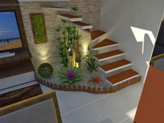 mini jardim de inverno:escada jardim inverno