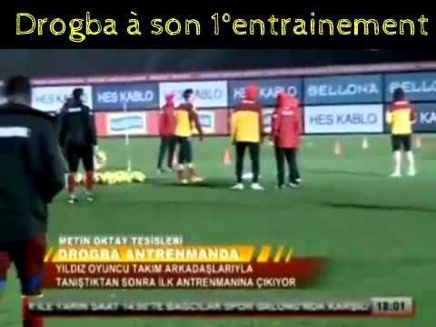FOOTBALL -  Didier Drogba a rejoint ses coéquipiers pour son 1° entrainement avec Galatasaray - http://lefootball.fr/didier-drogba-a-rejoint-ses-coequipiers-pour-son-1-entrainement-avec-galatasaray/
