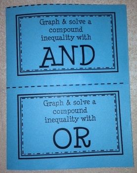 Algebra 1a 3 5 compound inequalities worksheet 2
