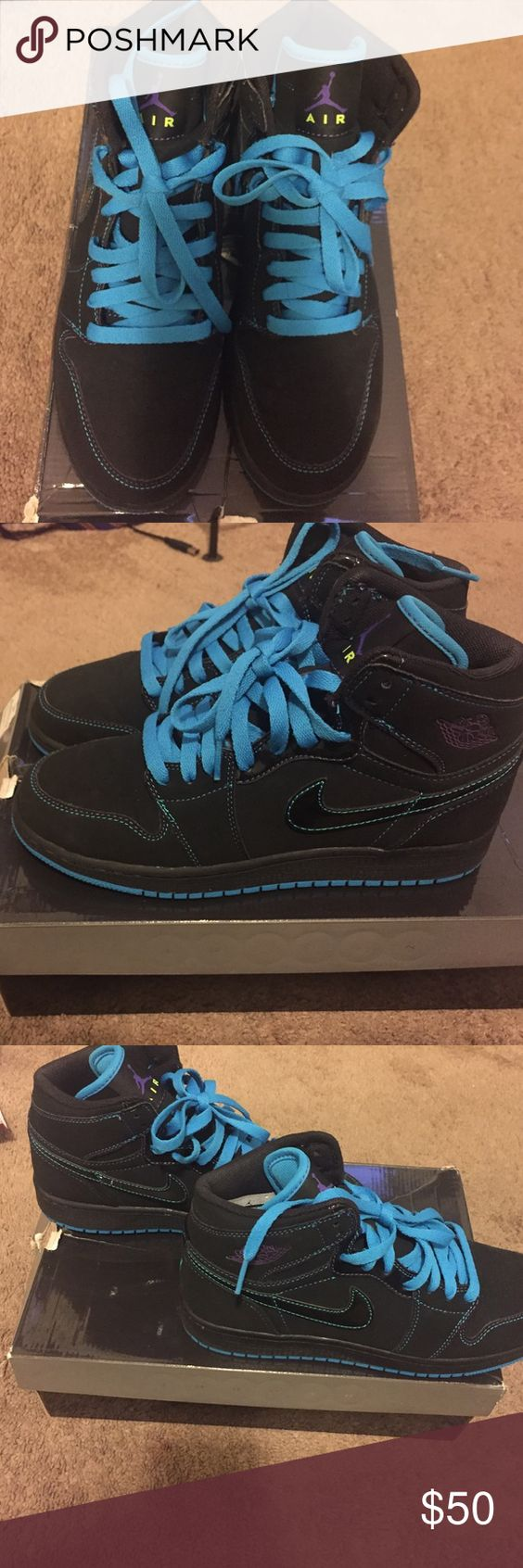 Kids Jordans Great Condition . Size 6.5 No Flaws at all. Worn once Jordan Shoes Sneakers