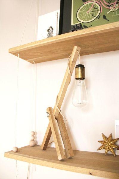 Tuto vid o de la lampe de bureau en bois t te d 39 ange - Lampe de bureau bois ...
