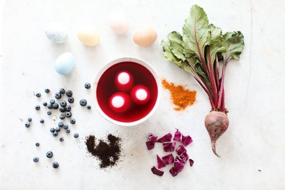 natural egg dye diy