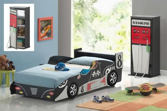 Me and the husband have been thinking about doing something like this for the little ones: Kids Bedrooms, Kid Bedrooms, Boy Bedrooms, Kids Room, Bed Frame, Boys Room