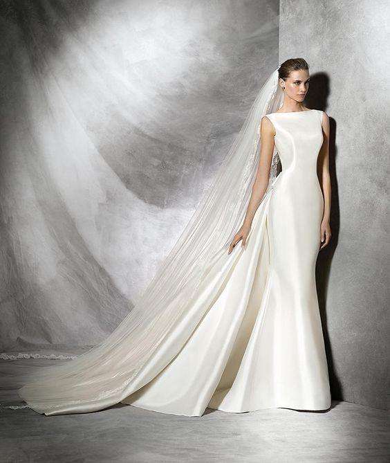 Trisa, robe de mariée originale, silhouette sirène