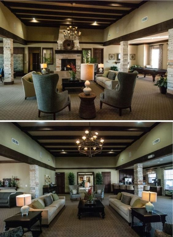 Clubhouses Interiors And Golf Courses On Pinterest