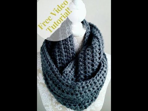 How To Crochet An Easy Infinity Scarf Crochet Tutorial For Beginners Youtube Crochet Infinity Scarf Crochet Infinity Scarf Pattern Scarf Crochet Pattern