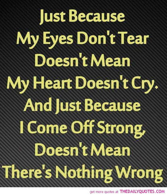 100 Sad Quotes And Sayings About Life And Love: Eyes, Love Life And Life On Pinterest