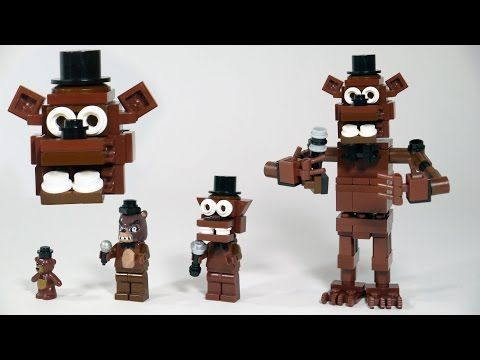 Lego freddy freddy 39 lego bonnie build lego lego builds fnaf tutorial