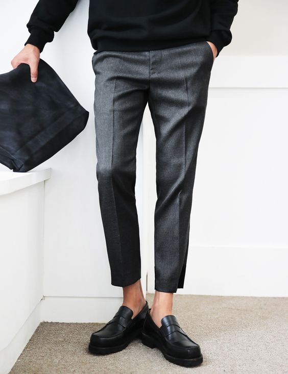 Cropped Pants, trousers