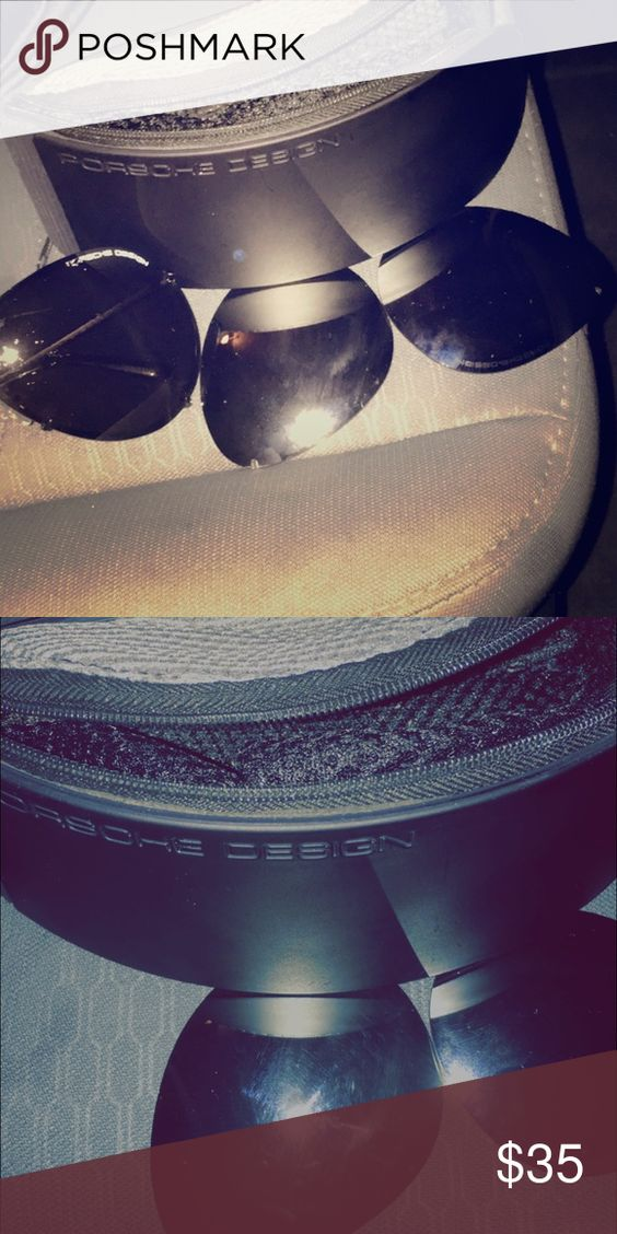 Porsche design sunglasses Good condition two different lenses to switch out one chrome polarized other flat black Accessories Sunglasses