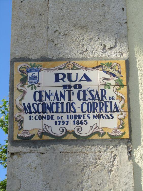 Nome da Rua em Torres Novas