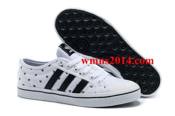 Adidas Originals Honey Stripes Low Shoes Black White Black