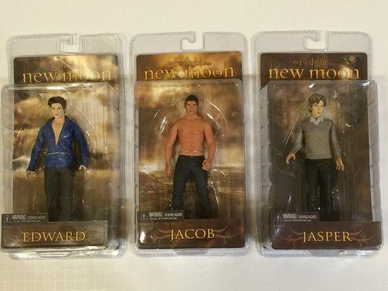 from $43.79 - The #twilight Saga New Moon Set Of 3 Figures: Edward Jacob & Jasper (neca Toys)