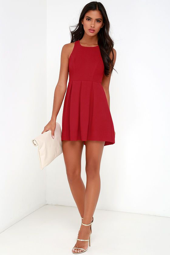 Red dress lulus homecoming dresses