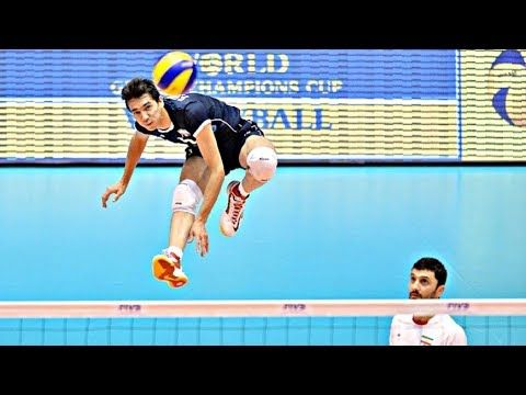 Volleyball Players How To Jump Higher Volleyball Exercises Youtube High Jump Volleyball Players Volleyball Training