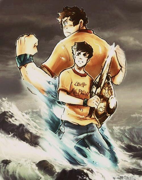 Percy Jackson and Tyson