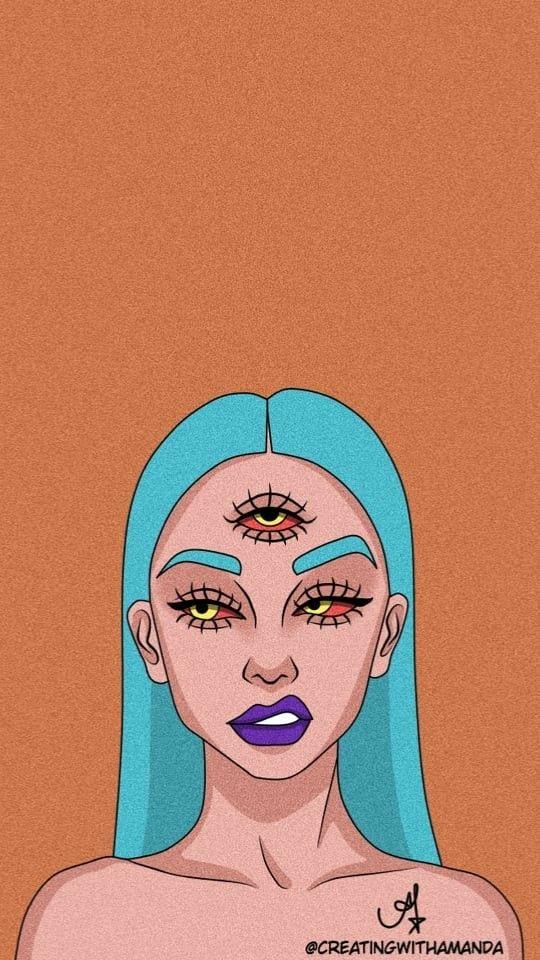 Pinterest Gabiganzer Pop Art Girl Crying Art Wallpaper Pop
