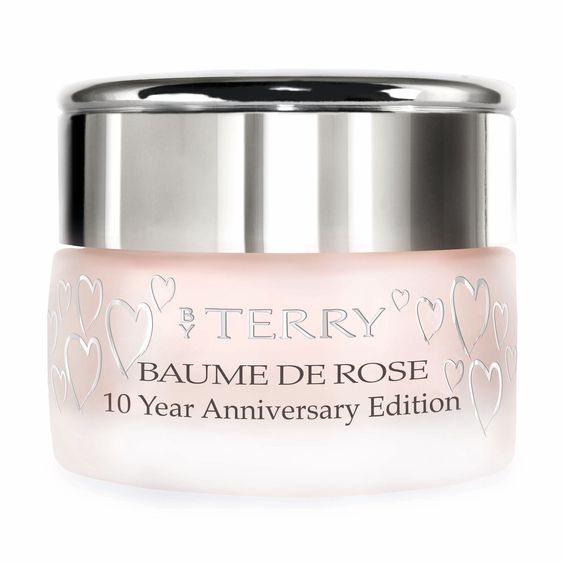 Cult-favorite By Terry Baume De Rose 10 Year Anniversary Edition, $60, barneys.com, instantly softens lips and cuticles.   - HarpersBAZAAR.com