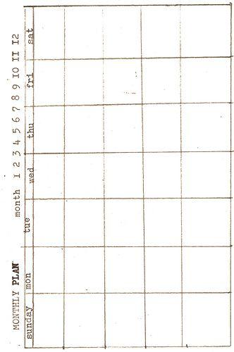 Diy Calendar Size : Free printable index cards diy planner templates