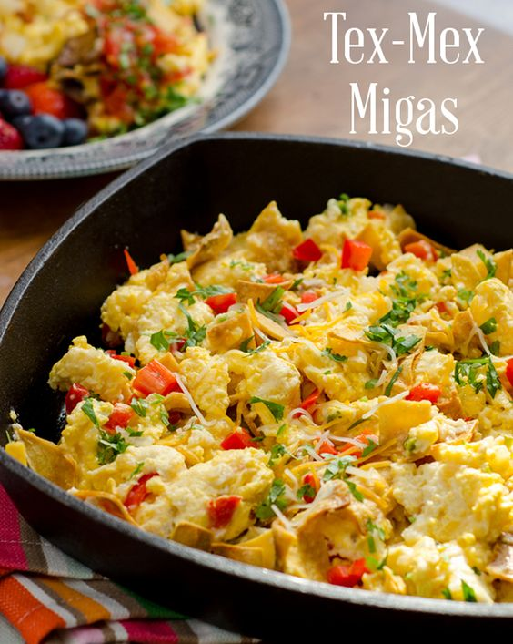 Tex-Mex Migas | Recipe | Tex mex, Pizza pot pie and Eggs ...