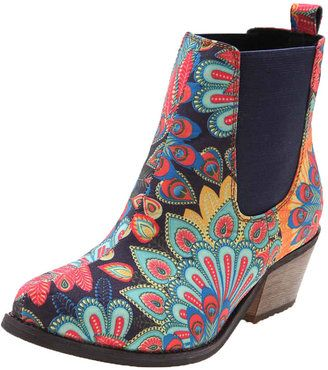 ShopStyle: Soles Boot This Peacock Paisley