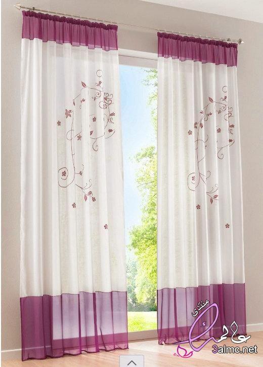 ستائر غرف نوم ناعمة Curtains Sheer Curtains Curtains With Blinds