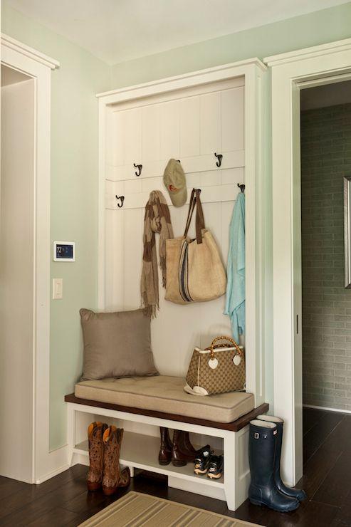 Sherwin Williams Comfort Gray Laundry Room Mud Room