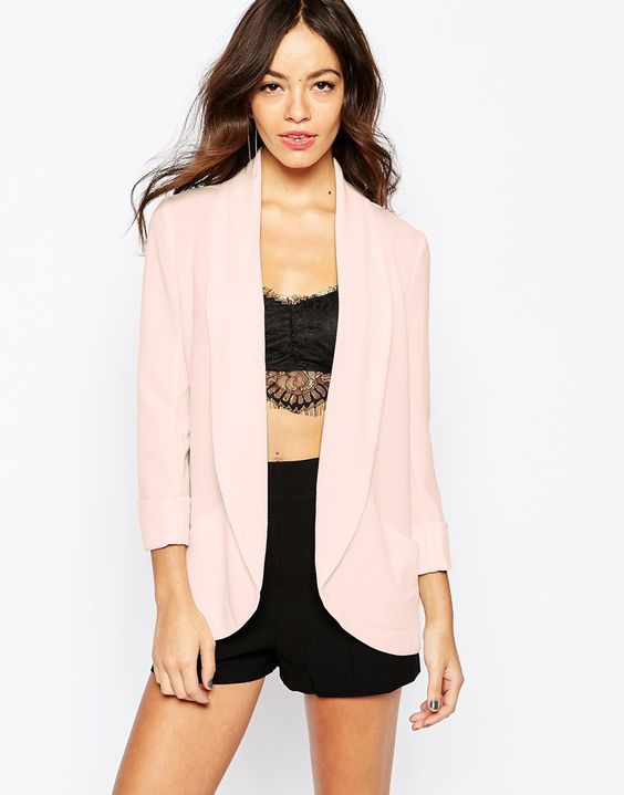 Image 1 of New Look Soft Drape Blazer | Smart Strings | Pinterest ...