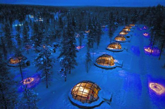 Im Winter auf Nordlicht-Safari nach Finnland ... Weiterlesen: http://www.reisefernsehen.com/reise-news/reise-news-aktivurlaub/3434289cad10c130f-im-winter-auf-nordlicht-safari-nach-finnland.php