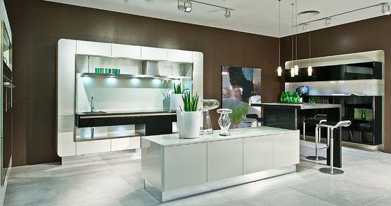 Great Design K che von H cker Design kitchen by H cker Backofen in Steinwand K che Pinterest Design k chen Steinwand und K che