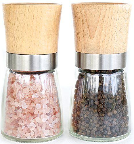 Willow & Everett Salt and Pepper Shakers - Wood Salt and ... https://www.amazon.com/dp/B017LD1H32/ref=cm_sw_r_pi_dp_R2jyxb0ECWZ1C