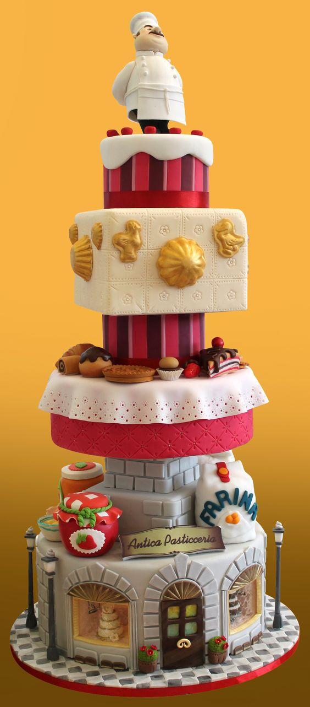 Cake Decorating Company Massa : Inno alla pasticceria italiana! Medaglia d argento al ...