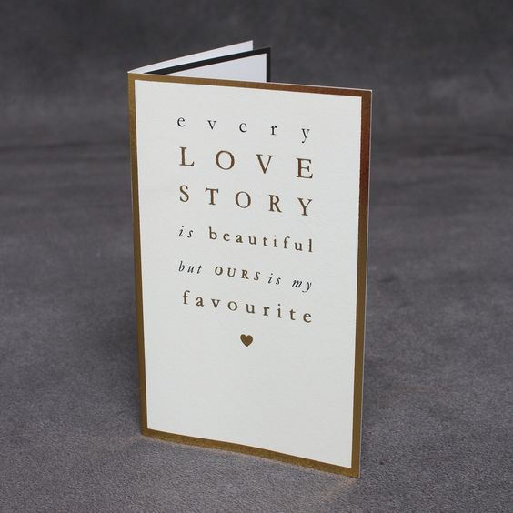'My Favourite Love Story' Card | Cards