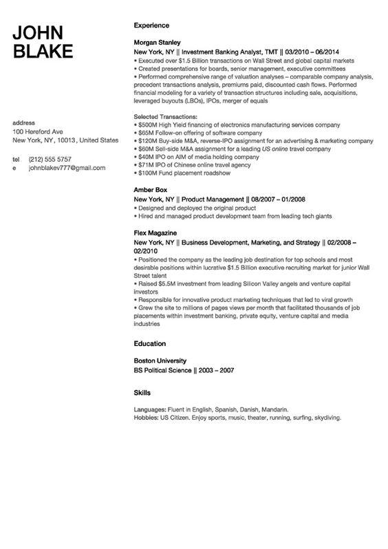 Resume Builder  Build A Resume In Minutes With Resumegenius