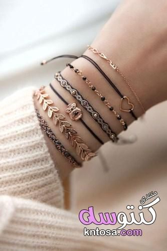 اجمل اكسسوارات للصبايا اجمل الاساور للبنات اجمل اكسسوارات البنات اكسسوارات هاند ميد انسيالات شيك Kntosa Com 16 1 Trendy Bracelets Girly Jewelry Stylish Jewelry