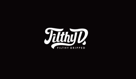 Filthy Dripped Clothing by Brian Villalon, via Behance