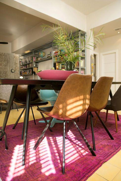 Casinha colorida: Home Tour: cinquetona moderninha