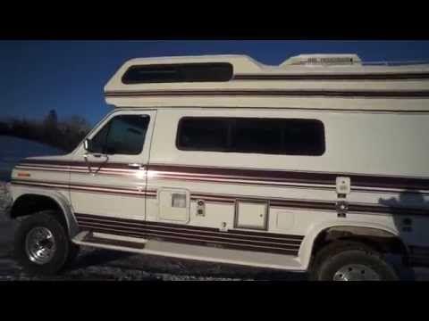 Van Life Meet T Rex A Lifted 4x4 Intervec Falcon Class B Ford Camper Van Youtube Van Life Camper Van Van